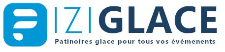 Logo ici glace bleu