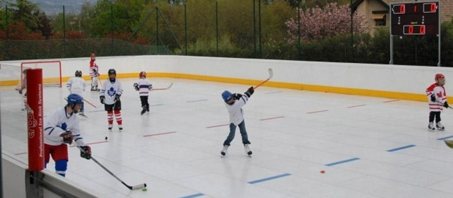 Location patinoire synthetique sport